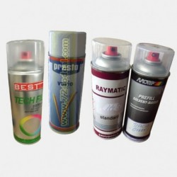 Filled Spray Car Paints