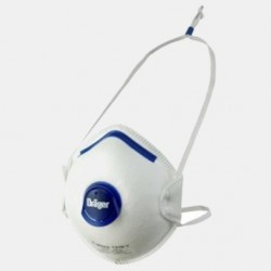 Drager Moulded Disposable Respirators with valve