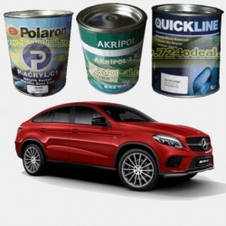 MERCEDES Filled Can Auto Paints