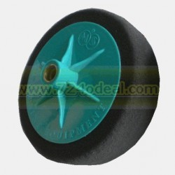 Polishing Pad with Applicator Black