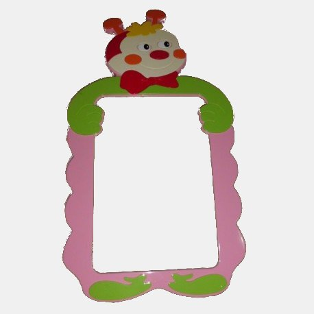Mirror Frame with Bear figure