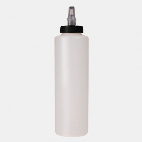 Mirror Glaze Dispenser Bottles with Dispenser Cap with product