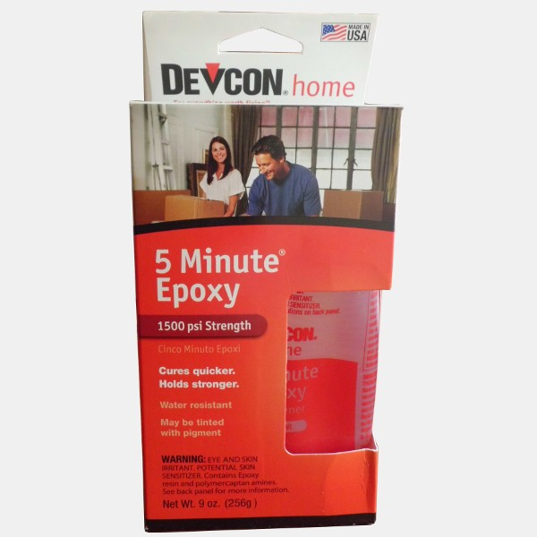 Devcon S209 5-Minute High Strength Fast Drying Epoxy 260 Gr