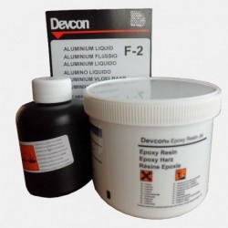 Aluminum-filled pourable epoxy (F-2) 500 gr.