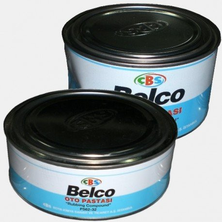 Belco Rubbing Compound Yellow