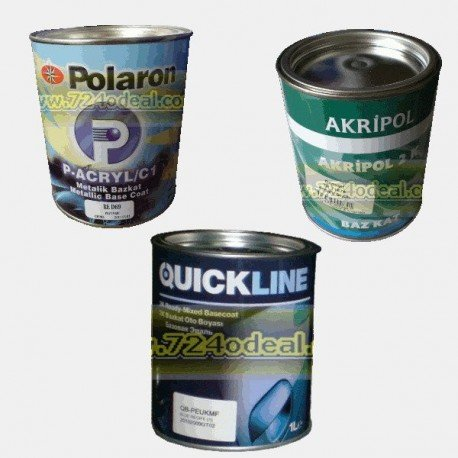 Filled Can Auto Paints