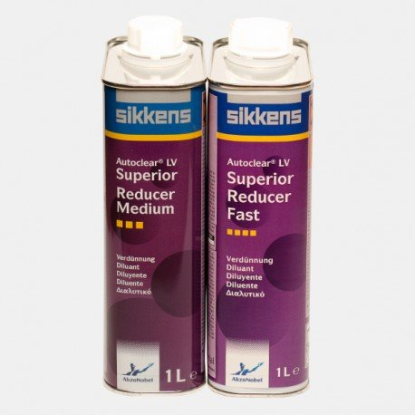 Akzo Nobel Sikkens Autoclear LV Superior Reducer Slow, Fast and Medium