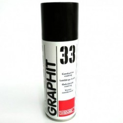 Graphite lacquer for conductive coatings