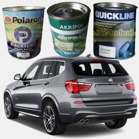 BMW Filled Can Auto Paints