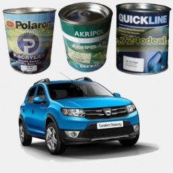 DACIA Filled Can Auto Paints