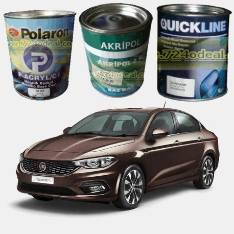 FIAT Filled Can Auto Paints