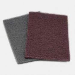 Nonwoven Finishing Pad Red