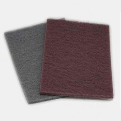 Nonwoven finishing pad Gray